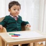 子供用 桐の机と椅子