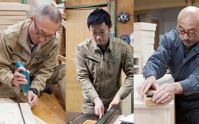 桐箪笥産地--伝統を受け継ぐ職人